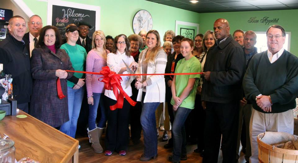 The Table Spoon's Ribbon Cutting: New Delightful Bakery and Bistro in Ahoskie!