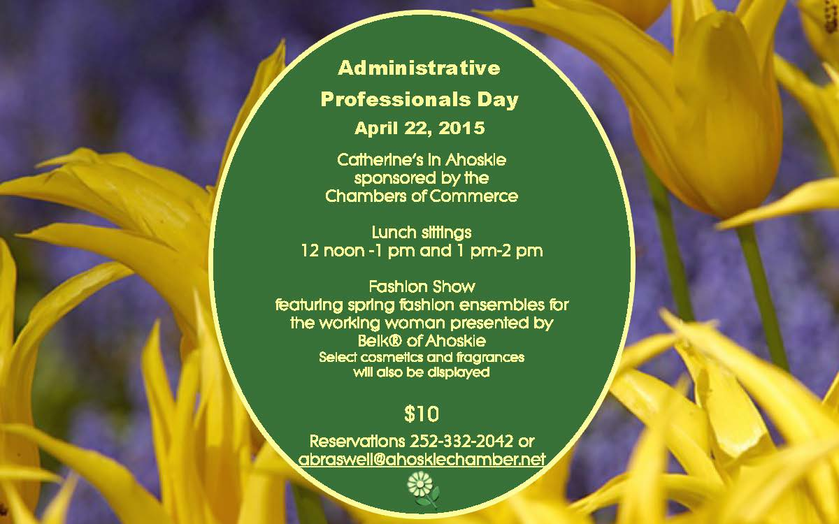 Administrative Professionals Day ~ April 22nd!