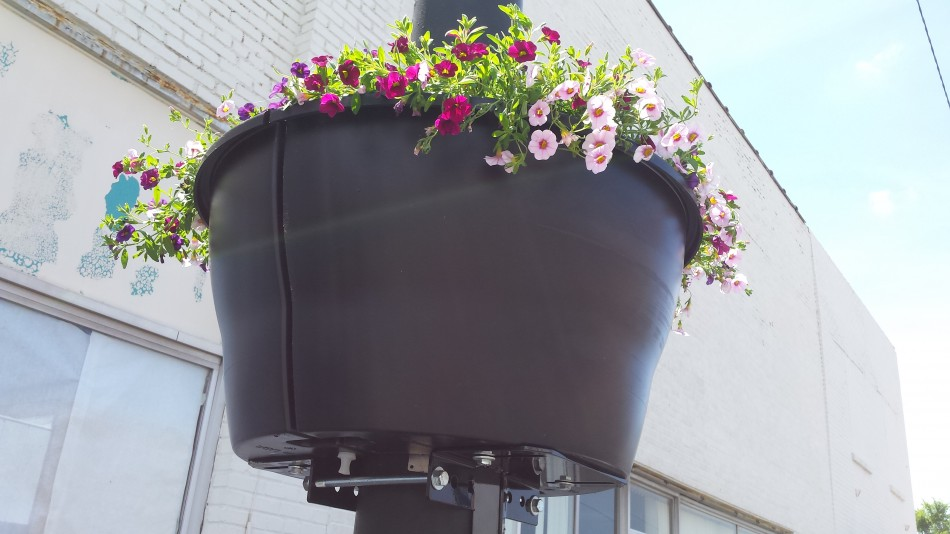 Our New Downtown Ahoskie Flower Pots !!!! Thanks Town of Ahoskie!!!!!
