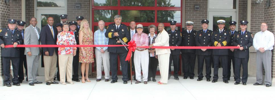 Ribbon Cutting  New Ahoskie Fire Station  July 2013